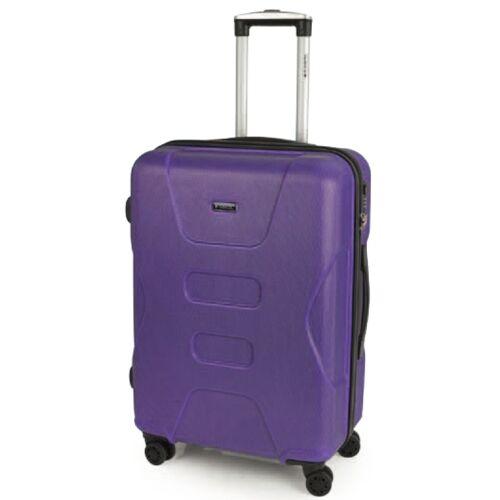 lila bőrönd