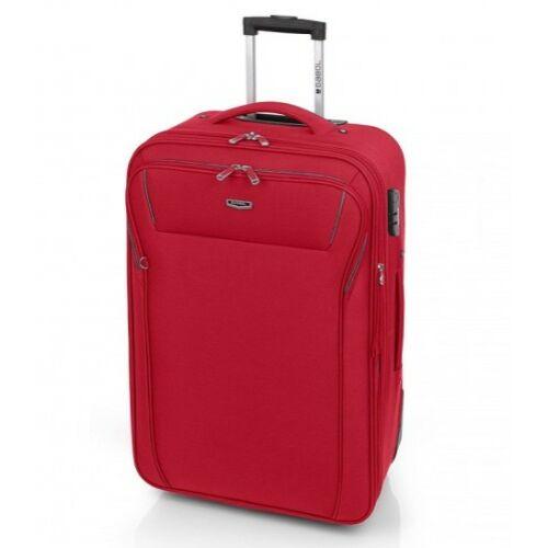 piros bőrönd