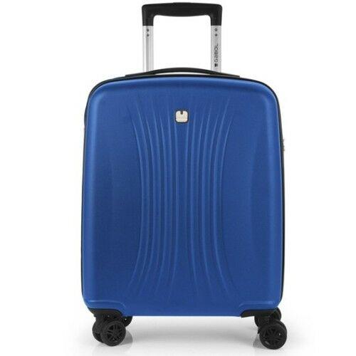 Kék kabinbőrönd