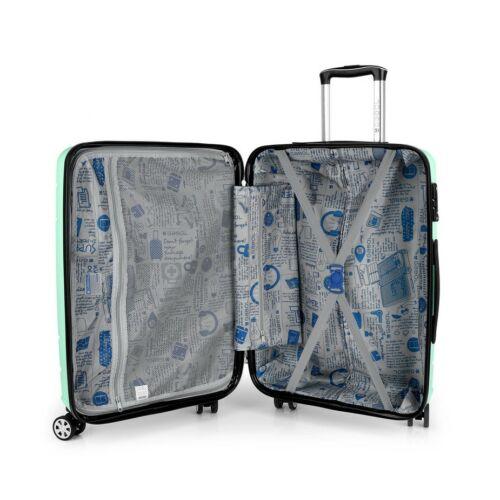 Gabol Shibuya közepes és nagy bőrönd belseje