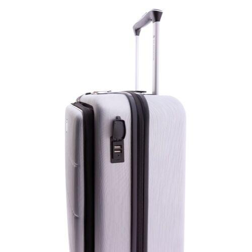 Gladiator Tech laptoptartós kabinbőrönd USB kimenet