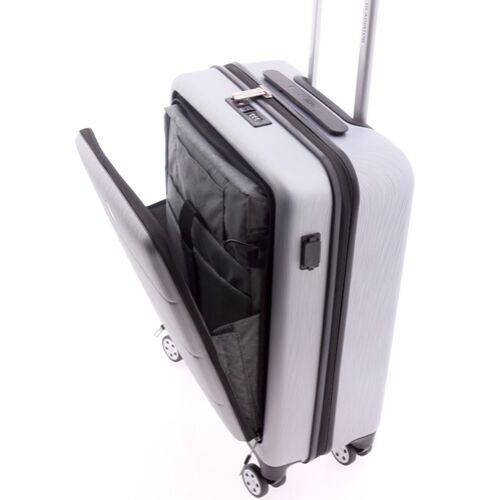 Gladiator Tech laptoptartós kabinbőrönd belülről