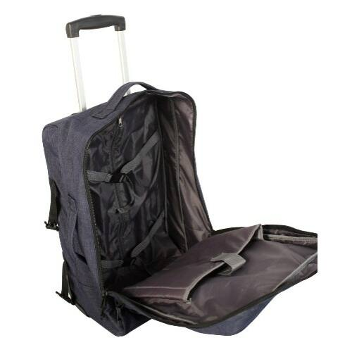 Gladiator Crew Denim laptoptartós bőrönd belső