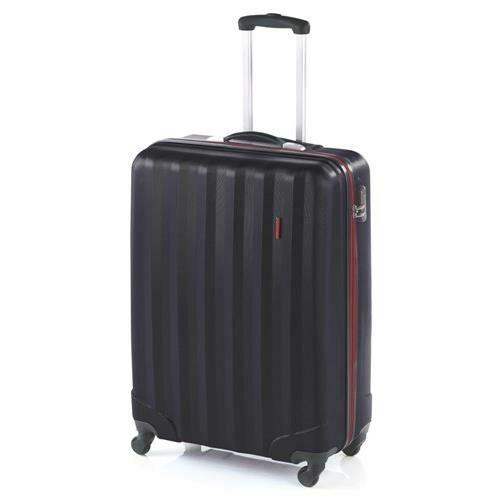 fekete színű bőrönd