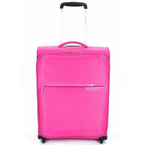 Roncato S-Light kabinbőrönd rózsaszín