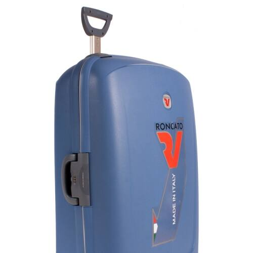 aviokék bőrönd