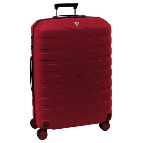 piros/fekete bőrönd
