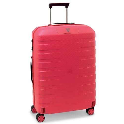 rózsaszín bőrönd