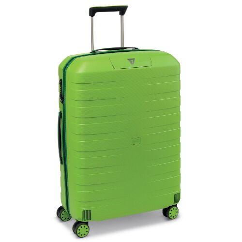 zöld bőrönd