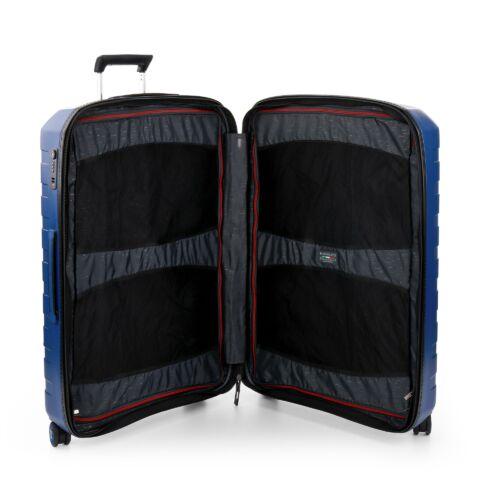 Roncato Box nagy bőrönd (bővíthető) sötétkék belső