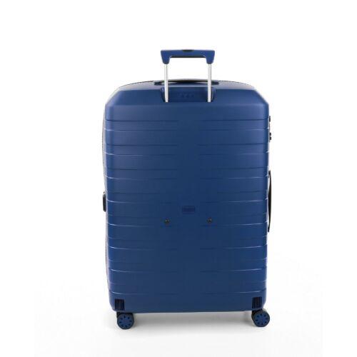 Roncato Box nagy bőrönd (bővíthető) sötétkék hátulja