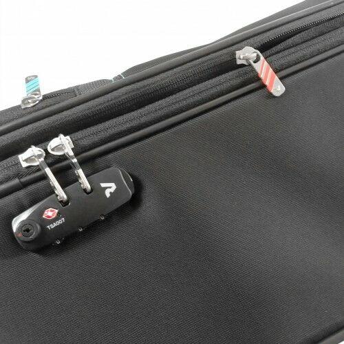 bőrönd TSA számzára
