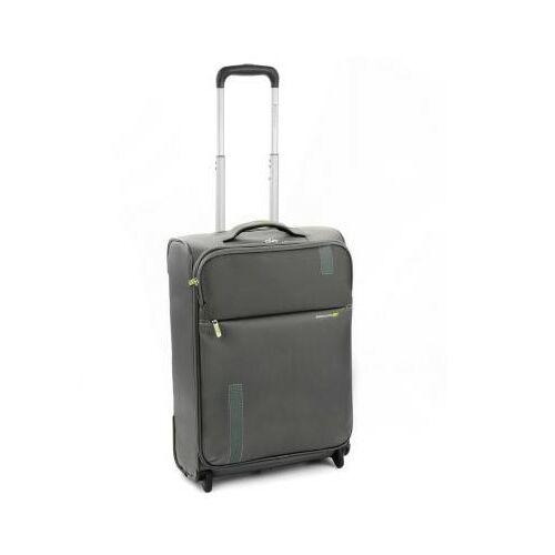 szürke bőrönd