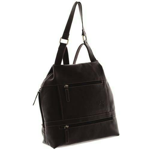Rosme MGM bőr női hátizsák fekete