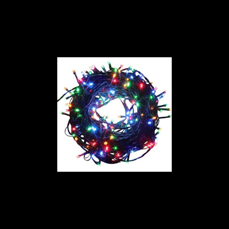 LED fényfüzér 8 programmal (15 m, színes)