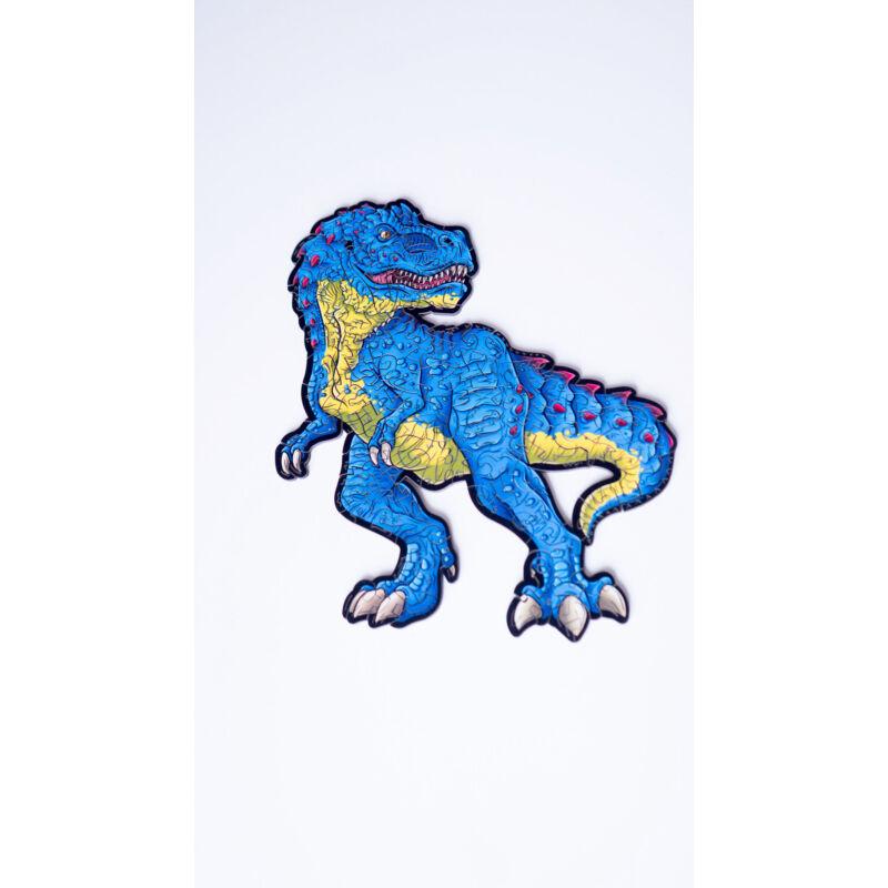 Rémisztő T-Rex különleges fa puzzle (130 db-os, 14+)