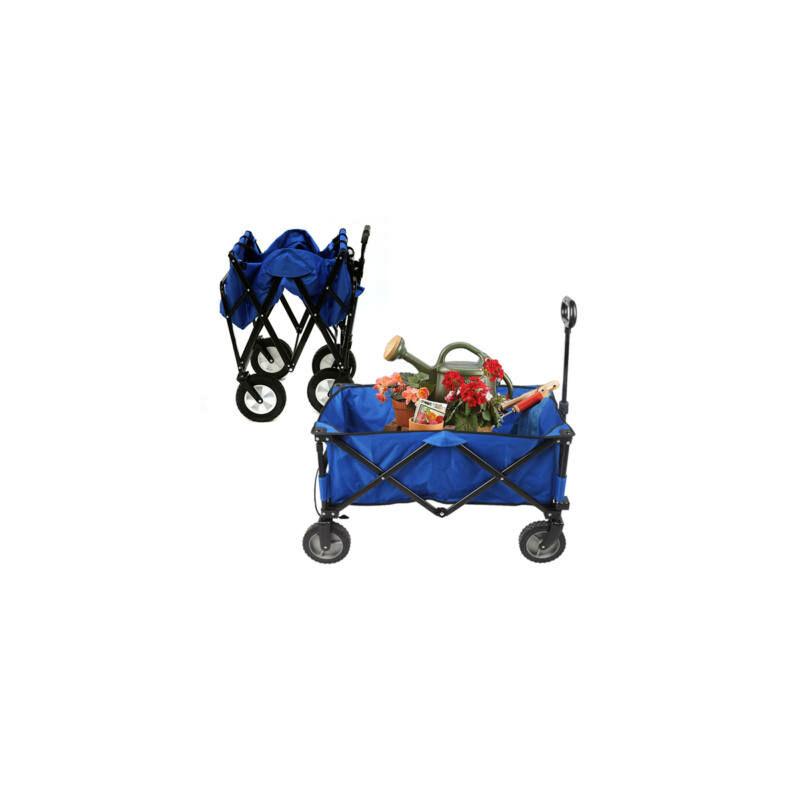 Összecsukható strandkocsi kék