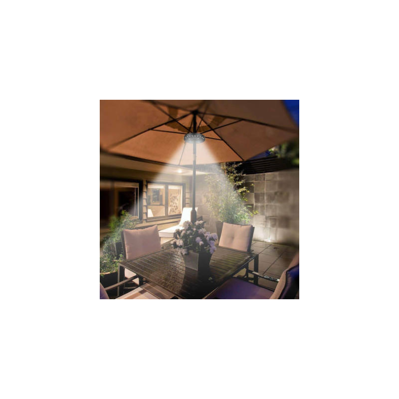 LED napernyő világítás, elemes