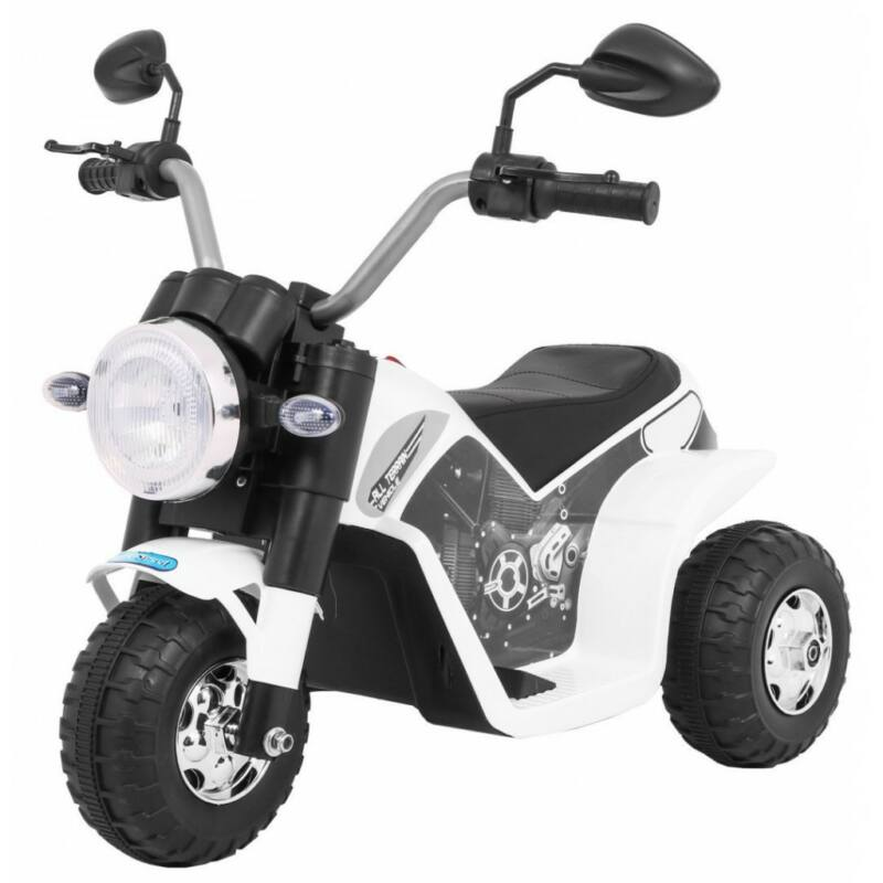 Chopper elektromos kisMotor gyerekeknek (3 kerekű) fekete
