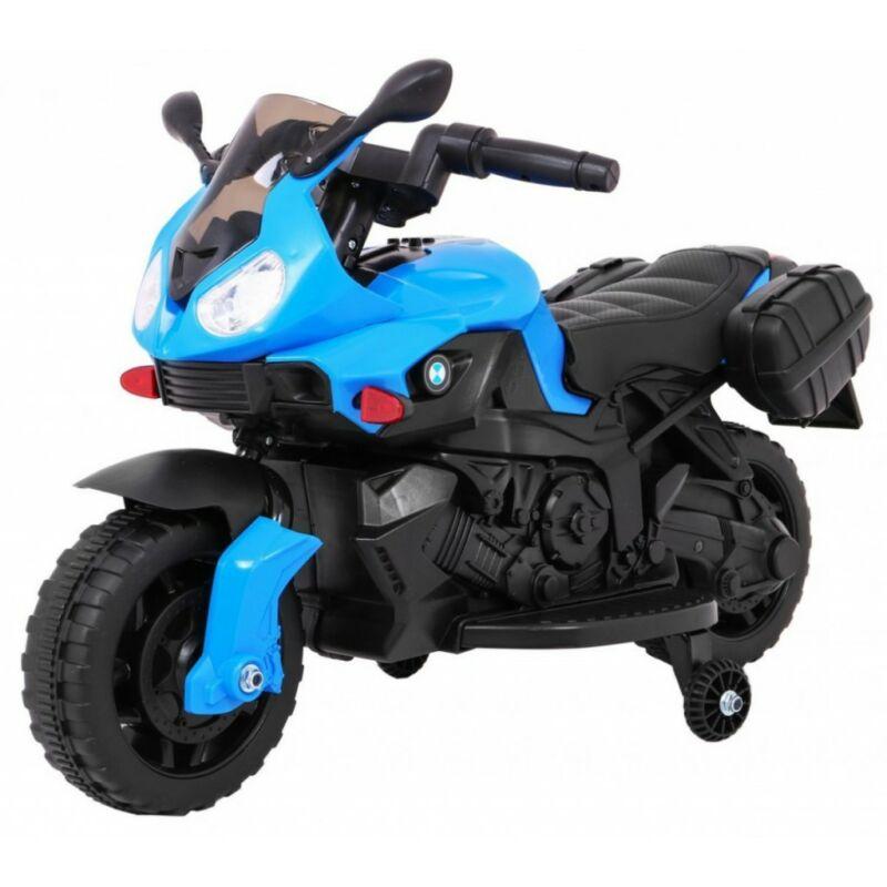 Elektromos kisMotor gyerekeknek (mini segédkerekekkel) kék