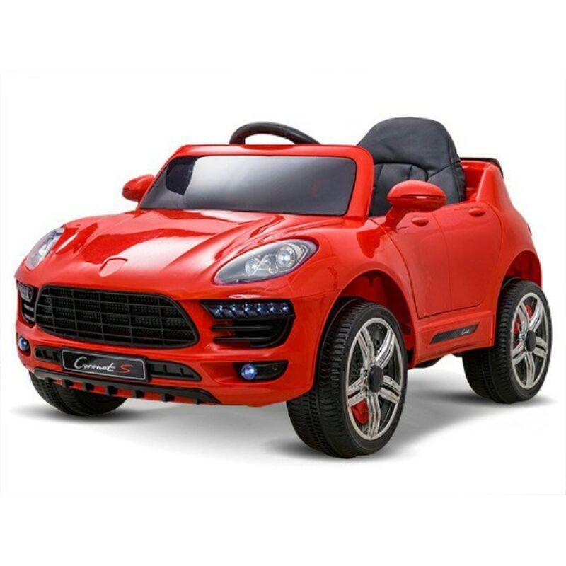Coronet S elektromos kisautó gyerekeknek (távirányítóval, 1 személyes) piros