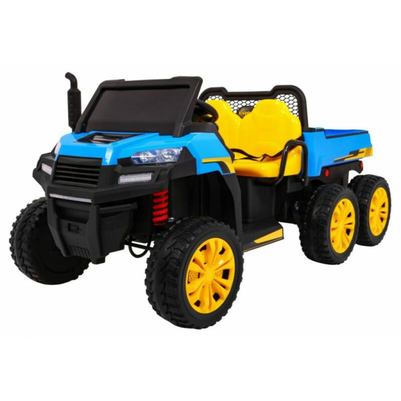 Farmer elektromos kisteherautó gyerekeknek (távirányítóval, 1 személyes) kék