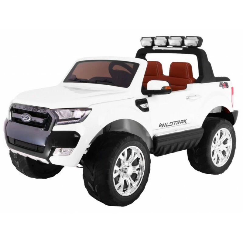 Ford Ranger Lift 4x4 elektromos kisautó gyerekeknek (távirányítóval, 1 személyes) fehér