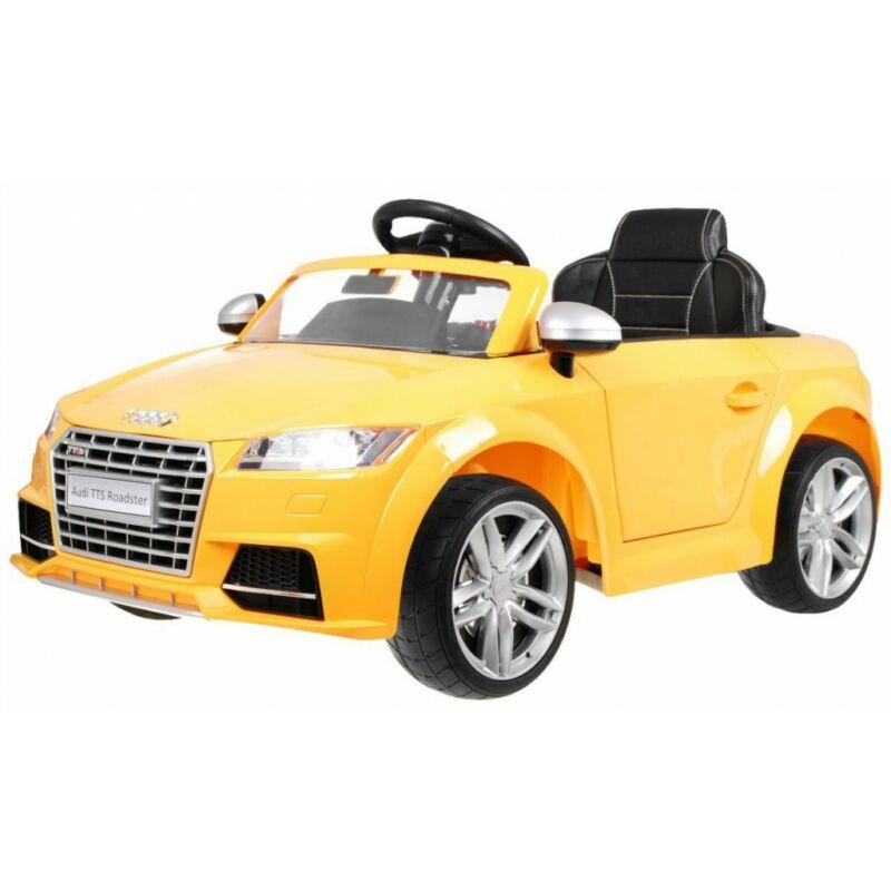 Audi TTS Roadster elektromos kisautó gyerekeknek (távirányítóval, 1 személyes)