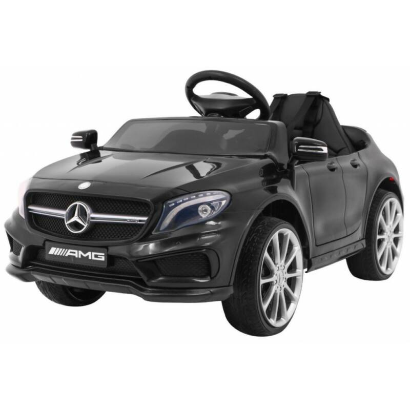 Mercedes AMG GLA-45 elektromos kisautó gyerekeknek (távirányítóval, 1 személyes) fekete