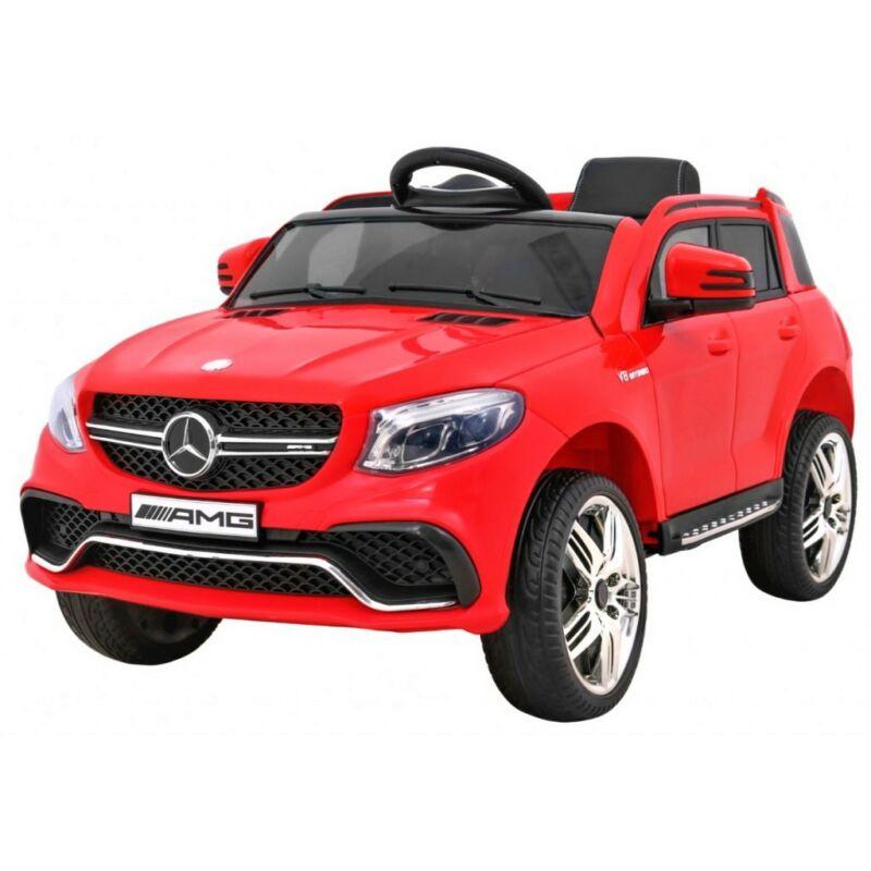 Mercedes GLE 63 AMG elektromos kisautó gyerekeknek (távirányítóval, 1 személyes) piros
