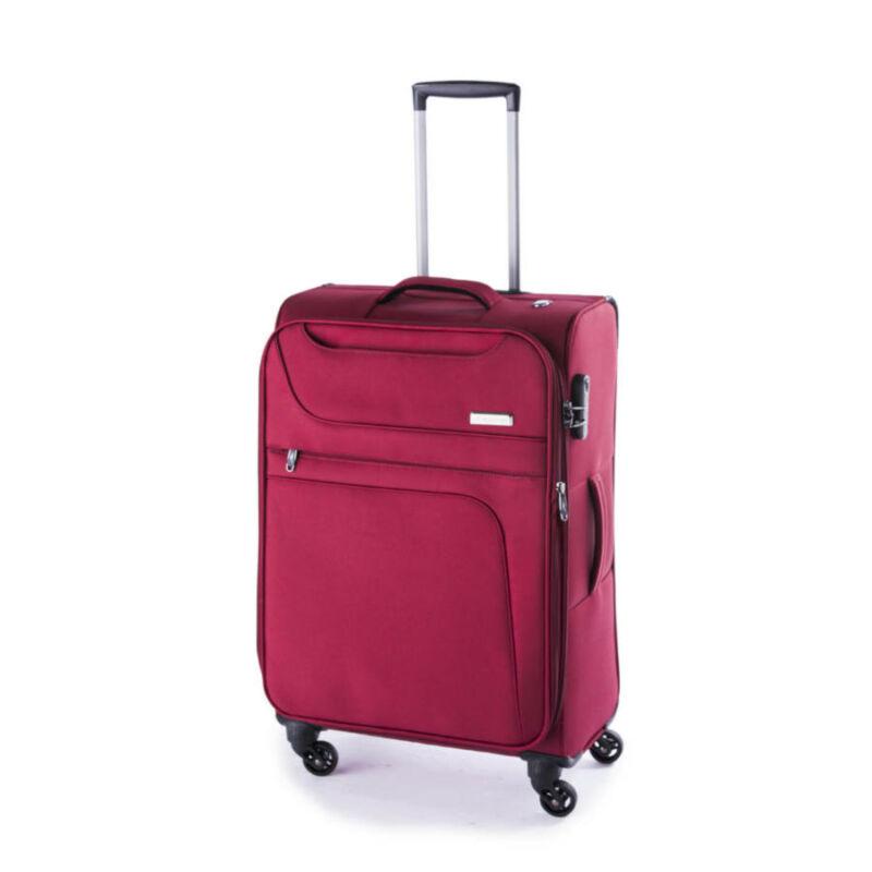 Yearz By March Focus közepes bőrönd borvörös