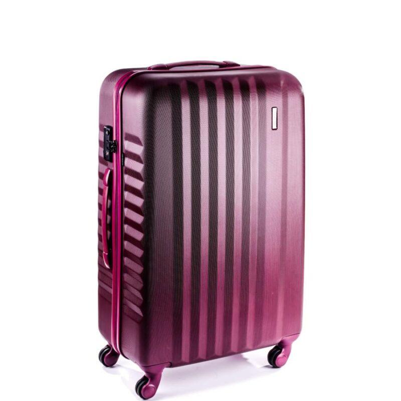 Yearz By March Ribbon bőrönd burgundi