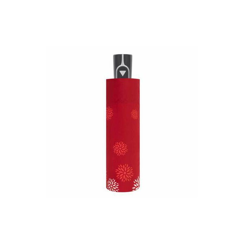 Doppler félautomata női esernyő (Fiber Style) piros