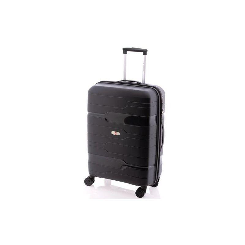 Gladiator boxing bővíthető bőrönd fekete