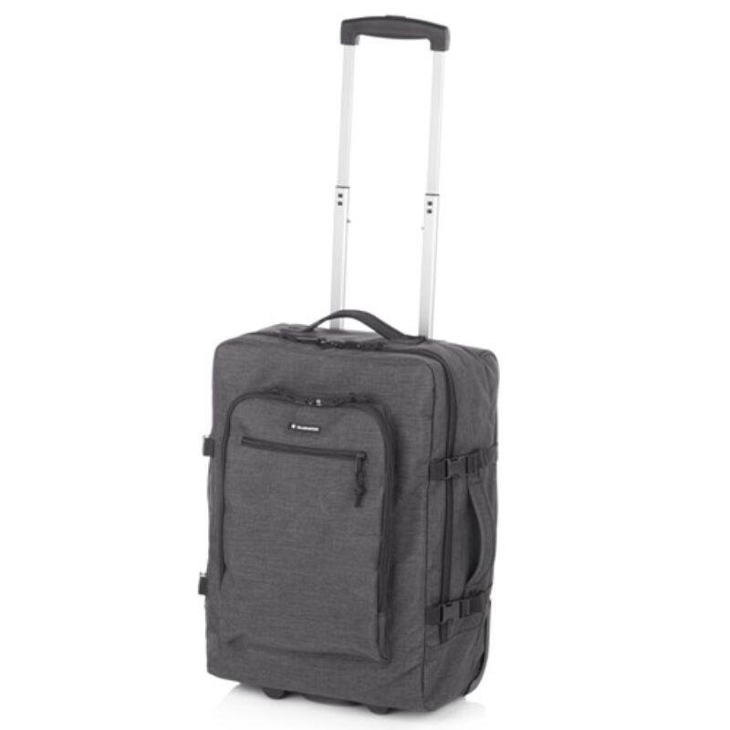Gladiator Crew Denim laptoptartós bőrönd szürke