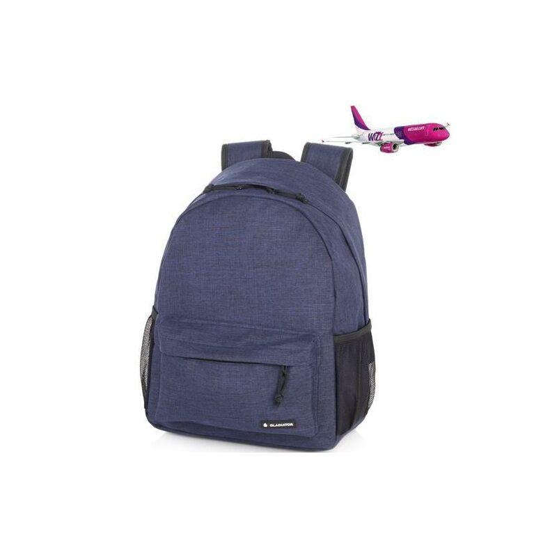 Gladiator Crew Denim hátizsák (Wizz Air kézipoggyász méret) kék