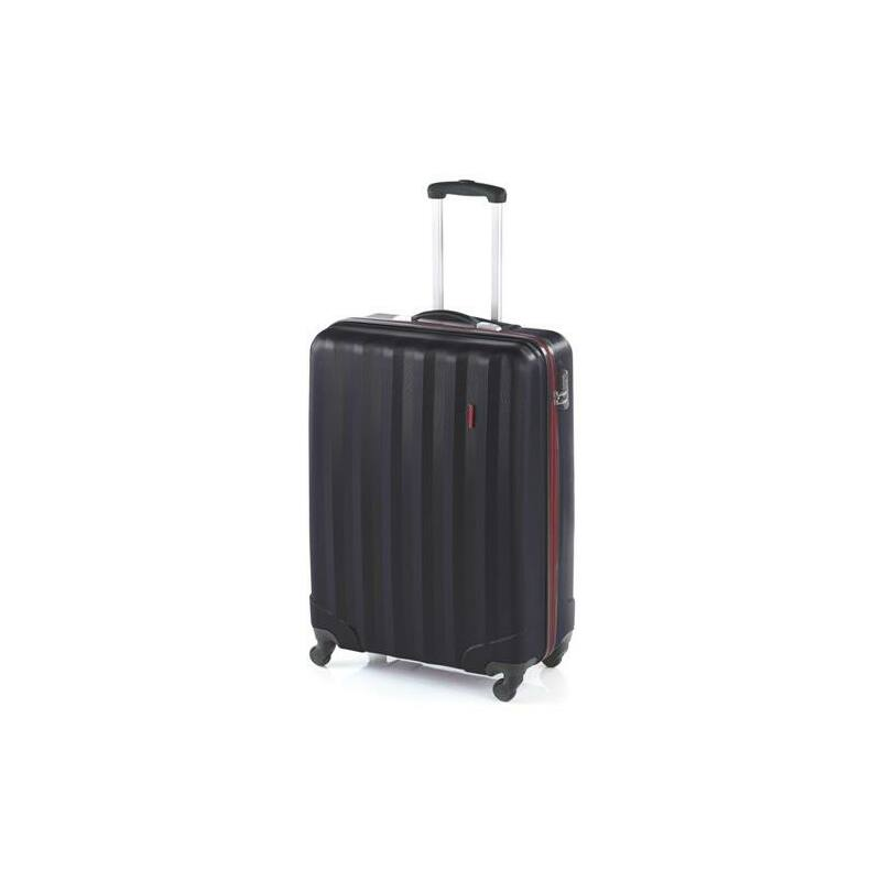 John Travel Rubine bőrönd fekete nagy