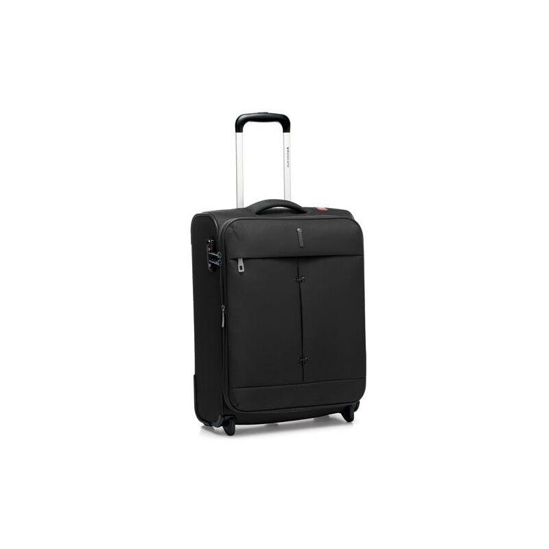 Roncato Ironik bővíthető kabinbőrönd fekete