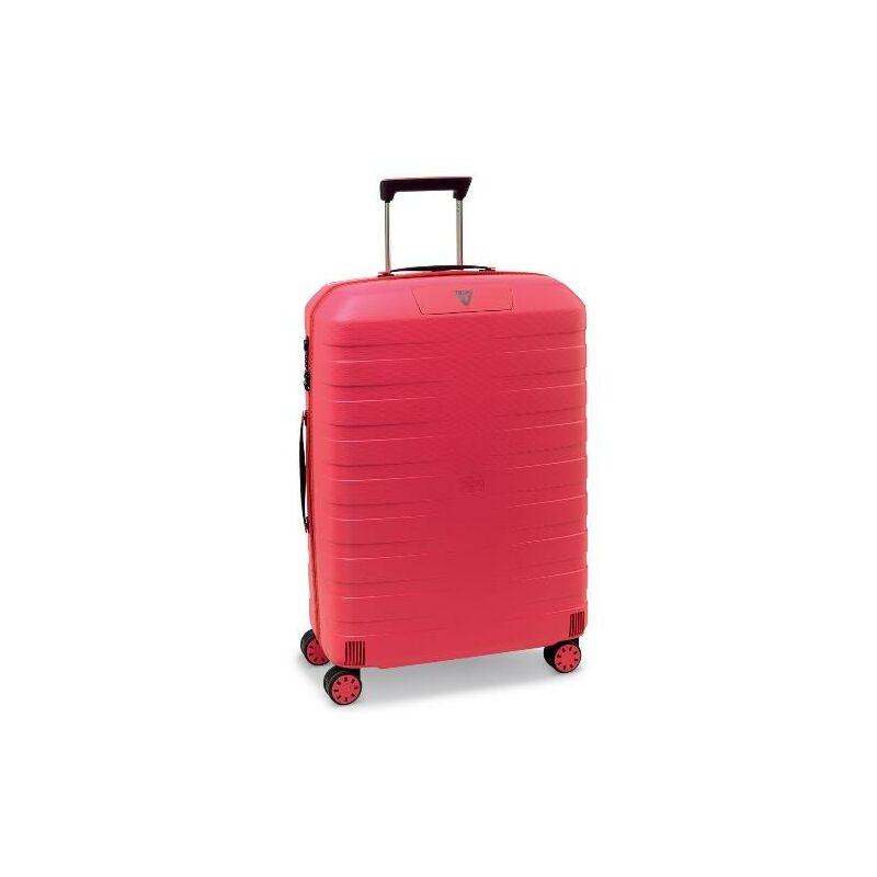 Roncato Box közepes bőrönd rózsaszín